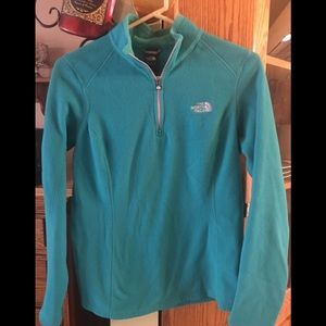 North Face Teal Colored Fleece